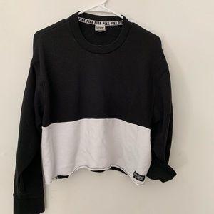 Victoria Secret Pink sweatshirt crop size medium